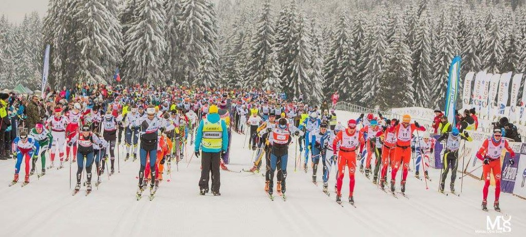 Start FIS-Worldloppet-Cup Rennen 50km